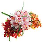 Lule artificiale Kryesore Dekor, Plastik, asnjë, asnjë, ngjyra të përziera, 360x570x340mm, 10PC/Shumë,  Shumë