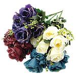 Lule artificiale Kryesore Dekor, Mëndafsh, Shape Tjera, asnjë, asnjë, ngjyra të përziera, 360x540x280mm, 10PC/Shumë,  Shumë