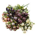 Lule artificiale Kryesore Dekor, Mëndafsh, asnjë, asnjë, ngjyra të përziera, 170x340x140mm, 10PC/Shumë,  Shumë