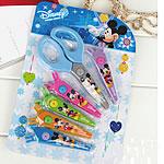 Gërshërë, Plastik, Mickey Mouse, asnjë, blu, 210x145mm, 20PC/Shumë,  Shumë
