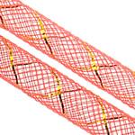 Plastike Cord Net Thread, i kuq, 8mm, :25m,  Shumë