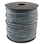 Cord Wax, gri, 1.5mm, :80Oborr,  PC