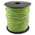 Cord Wax, e gjelbër, 1.5mm, :80Oborr,  PC