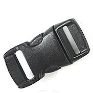 Lidh plastike, Drejtkëndësh, asnjë, asnjë, e zezë, 28x11-13mm, 100PC/Qese,  Qese