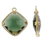 Varëse Rrëshirë, Alloy zink, Diamant, ngjyrë ari praruar, matte, asnjë, , nikel çojë \x26amp; kadmium falas, 18.50x21.50x5.50mm, : 1.5mm, 50PC/Qese,  Qese
