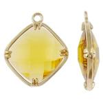 Varëse Rrëshirë, Alloy zink, Diamant, ngjyrë ari praruar, matte, asnjë, , nikel çojë \x26amp; kadmium falas, 18x21.50x5mm, : 1.5mm, 50PC/Qese,  Qese