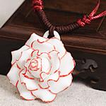 Zinxhiri gjerdan triko, Porcelan, Lule, endura, asnjë, asnjë, 40-50mm, : 15-26Inç, 10Fillesat/Shumë,  Shumë