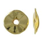 Washers Zink Alloy bizhuteri, Alloy zink, Round Flat, ngjyrë ari praruar, kthesë, asnjë, , nikel çojë \x26amp; kadmium falas, 9.5x1mm, : 2mm, 4540PC/KG,  KG