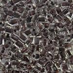 Glass Beads Japanese Seed, Kub, ngjyra-rreshtuan, asnjë, asnjë, 4mm, : 2mm, 4500PC/Qese,  Qese