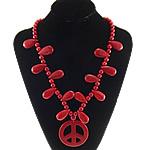 Moda Bruz Gjerdan, Bruz sintetike, Shape Tjera, i lyer, asnjë, i kuq, 55x55x4.5mm,15x28mm,8mm, :21Inç, 10Fillesat/Shumë,  Shumë
