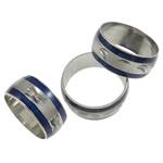 Finger smalt Mood Ring, Tunxh, Shape Tjera, ngjyrë platin praruar, humor smalt, asnjë, , nikel çojë \x26amp; kadmium falas, 9mm, : 17mm, :6.5, 100PC/Qese,  Qese