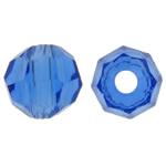 Swarovski Crystal Beads, Rondelle, Safir, 3mm, : 1mm, 50PC/Qese,  Qese