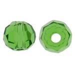 Swarovski Crystal Beads, Rondelle, Gjelbër fier, 3mm, : 1mm, 50PC/Qese,  Qese