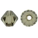 Swarovski Crystal Beads, Bicone, Greige, 6mm, : 1mm, 50PC/Qese,  Qese