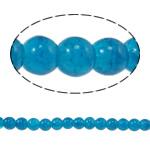 Glass Beads kërcitje, Xham, Round, asnjë, Ngjyrë gurkali, 6mm, : 1mm, : 31.4Inç, 10Fillesat/Qese,  Qese
