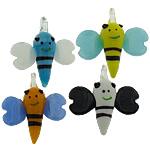 Pendants Lampwork Fashion, Bletë, asnjë, ngjyra të përziera, 36x35x12.50mm, : 4mm, 50PC/Shumë,  Shumë