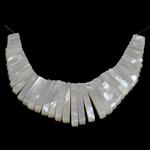 Pendants Natyrore White Shell, asnjë, asnjë, asnjë, 4x11-30x4mm, : 1mm, 2Fillesat/Shumë,  Shumë