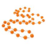 Jug Deti Shell gjerdan, Shape Tjera, sintetik, asnjë, kuq pak portokalli, 10mm, :31Inç, 12Fillesat/Qese,  Qese