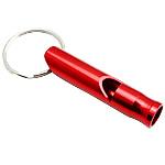 Whistle alumini, Shape Tjera, pikturë, asnjë, i kuq, 60x10mm, 50PC/Shumë,  Shumë