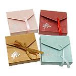 Byzylyk karton Box, Drejtkëndësh, asnjë, ngjyra të përziera, 95x90x23mm, 60PC/Shumë,  Shumë