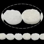 Beads kuarc bizhuteri, Kuarc qartë, Oval, natyror, asnjë, 10x14mm, : 1mm, :7.7Inç, 11PC/Fije floku,  7.7Inç,