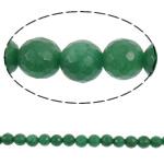 Beads kuarc bizhuteri, Jeshile kuarc, Round, natyror, asnjë, 10mm, : 1.5mm, :14.7Inç, 5Fillesat/Shumë,  Shumë