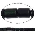 Syri Tiger Beads, Tub, natyror, asnjë, 8x10mm, : 1mm, :16Inç, 5Fillesat/Shumë,  Shumë