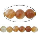 Beads kuarc bizhuteri, Ruby kuarc, Round, natyror, asnjë, 6mm, : 1mm, :16Inç, 10Fillesat/Shumë,  Shumë