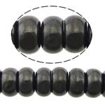 Beads bizhuteri gur i çmuar, Qymyrit kuarc Stone, Rondelle, asnjë, asnjë, 7x14mm, : 1mm, :16Inç, 5Fillesat/Shumë,  Shumë