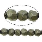 Beads bizhuteri gur i çmuar, Pirit Artë, Nuggets, asnjë, 5mm, : 1mm, :16Inç, 5Fillesat/Shumë,  Shumë