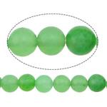 Beads Mermer Natyrore, Round, i lyer, asnjë, 4mm, : 1mm, :16Inç, 10Fillesat/Shumë,  Shumë