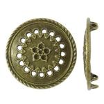 Cilësimet Zink Alloy Cabochon, Alloy zink, Monedhë, Ngjyra antike bronz i praruar, asnjë, asnjë, , nikel çojë \x26amp; kadmium falas, 28x4mm, : 1.5mm, 235PC/KG,  KG