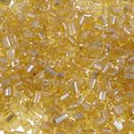2 Glass Beads Pritini Seed, Seed Glass Beads, Round, famë, i tejdukshëm, krem të verdhë, 2x2mm, : 1mm, 30000PC/Qese,  Qese
