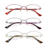 Eyewear Frames, Titan, with Rrëshirë, Shape Tjera, asnjë, asnjë, ngjyra të përziera, 32x130x130mm, 5PC/Shumë,  Shumë