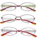 Eyewear Frames, Titan, with Rrëshirë, Shape Tjera, asnjë, asnjë, ngjyra të përziera, 31x125x135mm, 5PC/Shumë,  Shumë