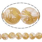 Beads kuarc bizhuteri, Kuarc Natyrore, Round, prarim, asnjë, 12mm, : 2mm, : 15.7Inç, 5Fillesat/Shumë,  Shumë