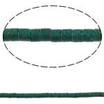 Bruz Beads, Bruz Mozaiku, Kolonë, sintetik, asnjë, blu, 4x4mm, : 0.8mm, :15.7Inç, 10Fillesat/Qese,  Qese