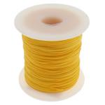 Cord najlon, midium verdhë, 1mm, : 100Oborr,  PC