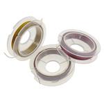Tiger Wire Tail, Shape Tjera, electrophoresis, asnjë, ngjyra të përziera, 0.38mm, : 100m, 10PC/Qese,  Qese