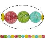 Kërcitje Beads kuarc, Kuarc Natyrore, Round, asnjë, 14mm, : 1.5mm, : 15.7Inç, 20Fillesat/Shumë,  Shumë