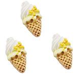 Rrëshirë Cabochon, Ice Cream, asnjë, smalt, asnjë, 23x13mm, 200PC/Qese,  Qese