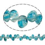 Beads kuarc bizhuteri, KYANITE, Lot, natyror, asnjë, 13x10x11mm, : 1mm, :15.7Inç, 20Fillesat/Shumë,  Shumë