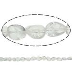 Beads kuarc bizhuteri, Kuarc qartë, Nuggets, natyror, asnjë, 12x16mm, : 1.5mm, : 15.7Inç, 20Fillesat/Shumë,  Shumë