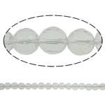 Beads kuarc bizhuteri, Kuarc qartë, Round, asnjë, 6mm, : 1.5mm, : 15.7Inç, 20Fillesat/Shumë,  Shumë