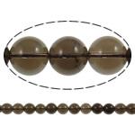 Beads kuarc bizhuteri, Tym kuarc, Round, natyror, asnjë, 6mm, : 1.5mm, : 15.7Inç, 20Fillesat/Shumë,  Shumë