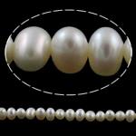 Patates Beads ujërave të ëmbla kulturuar Pearl, Pearl kulturuar ujërave të ëmbla, natyror, e bardhë, Një, 4mm, : 0.8mm, : 15.3Inç,  15.3Inç,