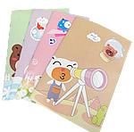 Letër shkrimi, Drejtkëndësh, asnjë, asnjë, ngjyra të përziera, 85x125mm, 50PC/Shumë,  Shumë