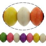 Bruz Beads, Bruz sintetike, Rondelle, i lyer, asnjë, ngjyra të përziera, 7x4.50mm, : 1mm, :16Inç, 40Fillesat/Shumë, 98pcs/strand,  Shumë