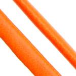 Cord lëkure, PU, Shape Tjera, asnjë, asnjë, portokall, 4x2mm, 100m/Shumë,  Shumë