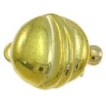 Kutia tunxh kapje, Shape Tjera, ngjyrë ari praruar, vetme-fillesë, asnjë, , nikel çojë \x26amp; kadmium falas, 14x10.50x6mm, : 1-2mm, 10PC/Qese,  Qese